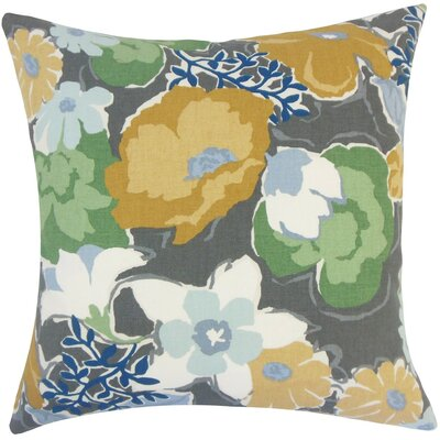 Urijah Floral Plus Cotton Throw Pillow Size: 18 H x 18 W x 5 D