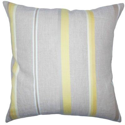 Oormi Striped Throw Pillow Size: 18 H x 18 W x 5 D