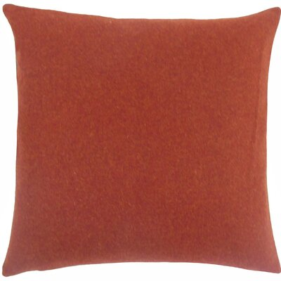 Taite Solid Throw Pillow Size: 18 H x 18 W x 5 D