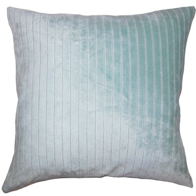 Wanbli Striped Throw Pillow Size: 18