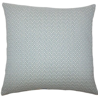 Pandora Geometric Throw Pillow Size: 20 H x 20 W x 5 D, Color: Sky