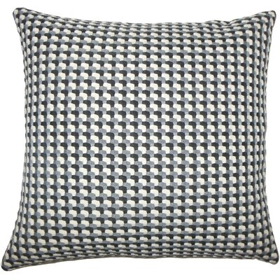 Nadezhda Geometric Throw Pillow Color: Domino, Size: 20 H x 20 W x 5 D