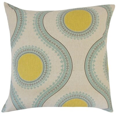 Mantreh Graphic Cotton Throw Pillow Size: 20 H x 20 W x 5 D, Color: Collin Laken