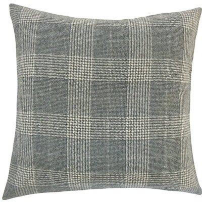 Ralston Plaid Wool Throw Pillow Size: 18 H x 18 W x 5 D