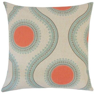 Mantreh Graphic Cotton Throw Pillow Size: 18 H x 18 W x 5 D, Color: Byram Laken