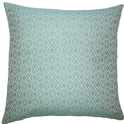 Calanthe Geometric Throw Pillow Color: Caribbean, Size: 24 x 24