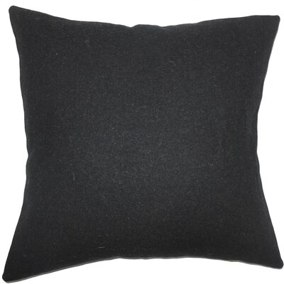 Quant Solid Wool Throw Pillow Size: 18 H x 18 W x 5 D