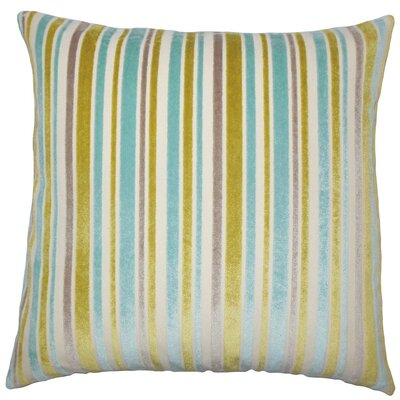 Lalana Striped Throw Pillow Size: 18 x 18