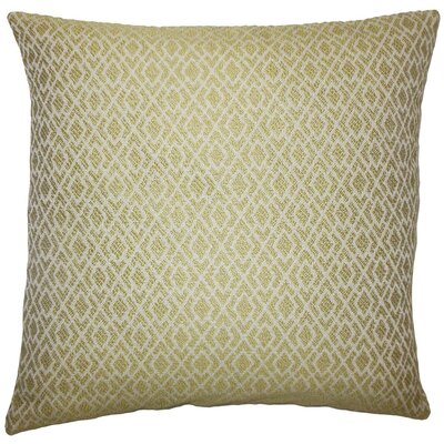Calanthe Geometric Throw Pillow Size: 18 x 18, Color: Peridot