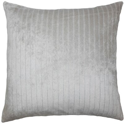 Davan Solid Throw Pillow Size: 22