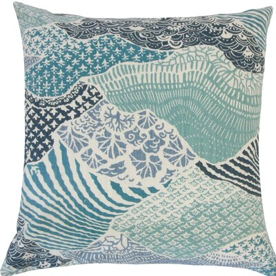 Vaughan Geometric Cotton Throw Pillow Size: 18 H x 18 W x 5 D