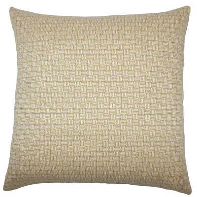 Nahuel Geometric Throw Pillow Size: 24 x 24, Color: Bamboo