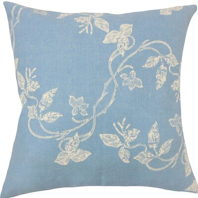 Yoland Floral Throw Pillow Size: 20 H x 20 W x 5 D