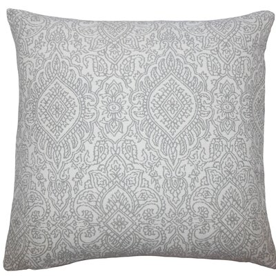 Secia Damask Throw Pillow Size: 18 H x 18 W x 5 D