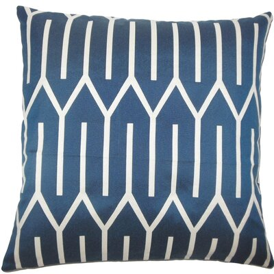 Talasi Geometric Throw Pillow Size: 20 H x 20 W x 5 D