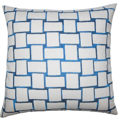 Quetzal Geometric Throw Pillow Size: 22 x 22, Color: Teal