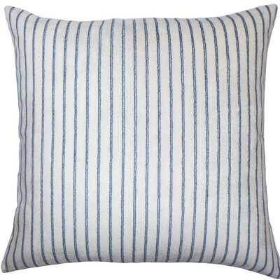 Maaike Striped Throw Pillow Size: 18 x 18, Color: Blue