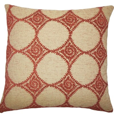 Aim Geometric Throw Pillow Size: 18