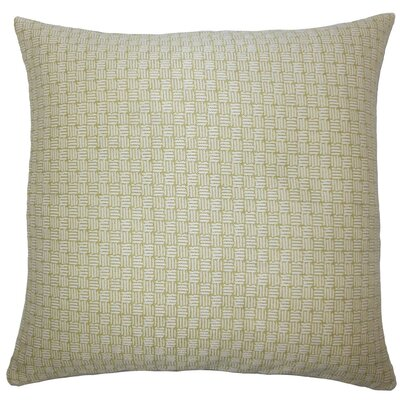 Nahuel Geometric Throw Pillow Size: 24 x 24, Color: Peridot