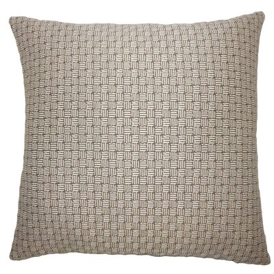 Nahuel Geometric Throw Pillow Size: 22 x 22, Color: Brown