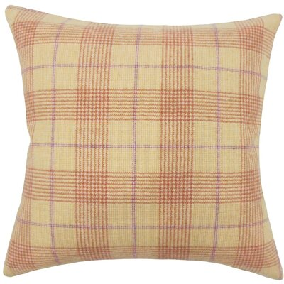 Geraint Plaid Throw Pillow Size: 18 H x 18 W x 5 D
