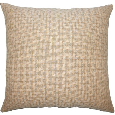 Nahuel Geometric Throw Pillow Size: 20 x 20, Color: Honey