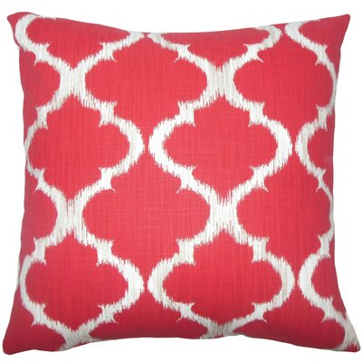 Gayora Geometric Cotton Throw Pillow Size: 20 H x 20 W x 5 D