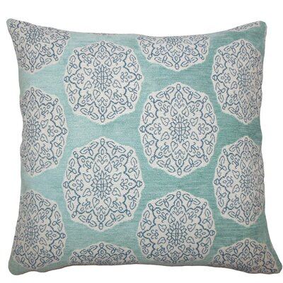 Quitzal Geometric Throw Pillow Size: 18 H x 18 W x 5 D, Color: Turquoise