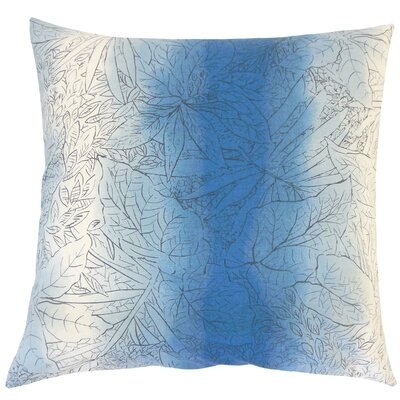 Tamasine Floral Cotton Throw Pillow Size: 20 H x 20 W x 5 D, Color: Calypso