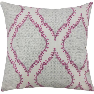 Willem Geometric Cotton Throw Pillow Size: 20 H x 20 W x 5 D, Color: Grey