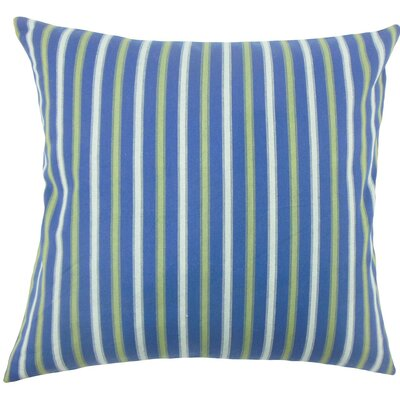 Bardia Striped Cotton Throw Pillow Size: 18 H x 18 W x 5 D