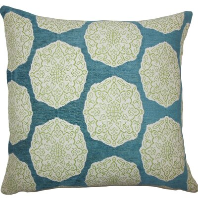 Quitzal Geometric Throw Pillow Size: 18 H x 18 W x 5 D, Color: Aqua Green
