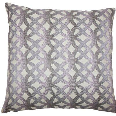 Heulwen Geometric Throw Pillow Size: 18