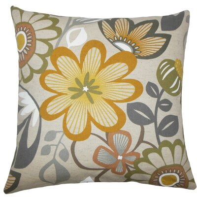 Elea Floral Throw Pillow Size: 20 H x 20 W x 5 D