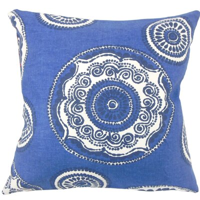 Ziraili Floral Throw Pillow Size: 18 H x 18 W x 5 D