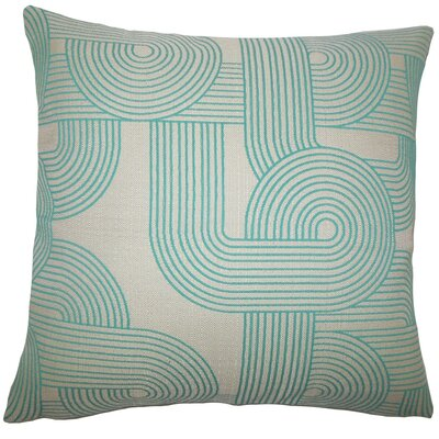 Salus Geometric Throw Pillow Size: 18 x 18