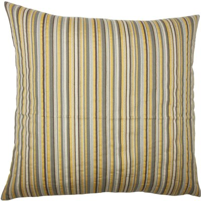 Wilmet Striped Throw Pillow Size: 18