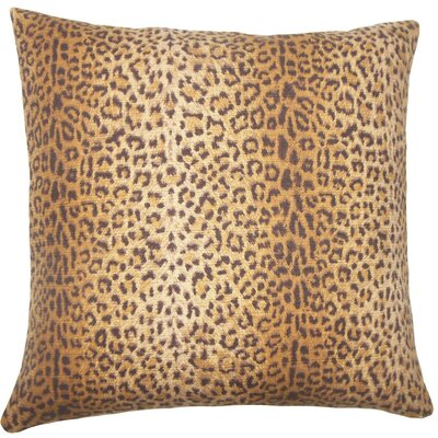 Achava Animal Print Cotton Throw Pillow Size: 20 H x 20 W x 5 D