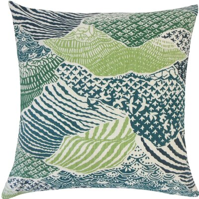 Vaughan Geometric Cotton Throw Pillow Size: 20 H x 20 W x 5 D