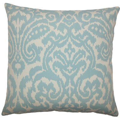 Zajac Ikat Throw Pillow Size: 18