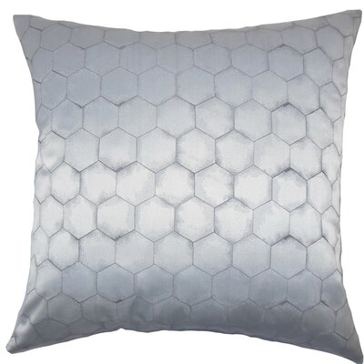 Valmai Geometric Throw Pillow Size: 24 x 24