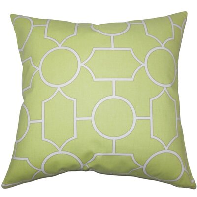 Umed Geometric Cotton Throw Pillow Size: 18 x 18