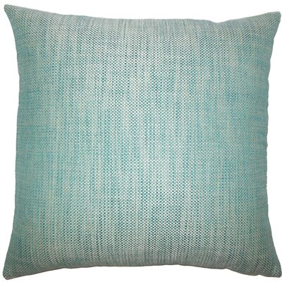 Daker Weave Throw Pillow Size: 18 H x 18 W x 5 D, Color: Peacock