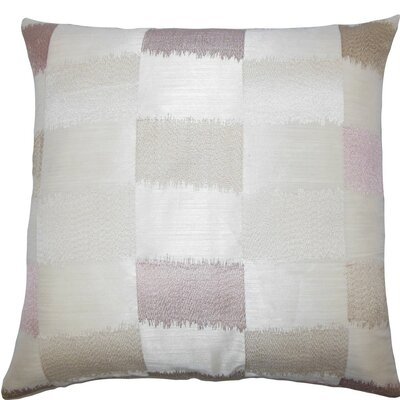 Ruchel Geometric Throw Pillow Color: Natural, Size: 24 x 24