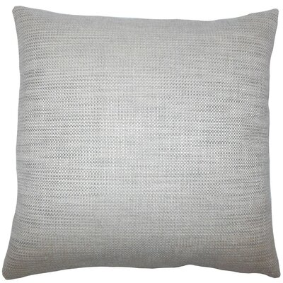 Daker Weave Throw Pillow Size: 20 H x 20 W x 5 D, Color: Grey