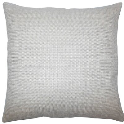 Daker Weave Throw Pillow Size: 20 H x 20 W x 5 D, Color: Linen