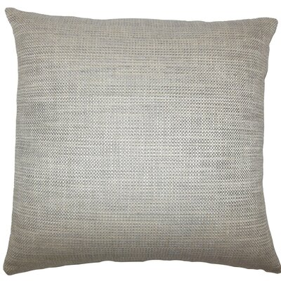 Daker Weave Throw Pillow Size: 20 H x 20 W x 5 D, Color: Stone