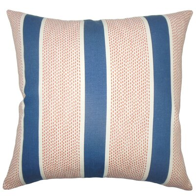Bandele Striped Cotton Throw Pillow Size: 18 x 18