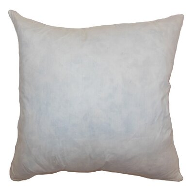 Down Pillow Insert Size: 20 H x 20 W x 5 D