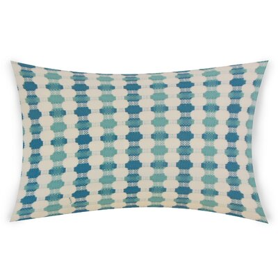 Goode Lumbar Pillow Color: Blue